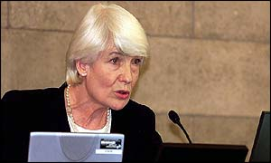 Dame Janet Smith, who chairs the Shipman inquiry