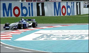 Williams Juan Pablo Montoya takes his fifth successive pole after beating Michael Schumacher in French Grand Prix qualifying