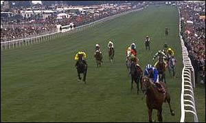 Nashwan wins the 1989 Derby at Epsom