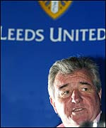 Leeds manager Terry Venables