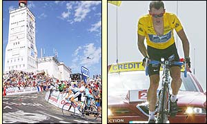 Richard Virenque won the 14th stage but Lance Armstrong improves his overall lead