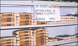 Zimbabwe supermarket
