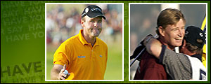 Thomas Levet was narrowly beaten by Ernie Els for the 131st Open title.