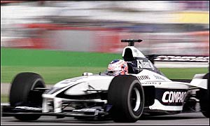 In only his 11th F1 Grand Prix, Button makes the top four
