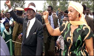 President Mugabe and Grace Mugabe