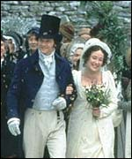 Wedding of Elizabeth and Mr Darcy