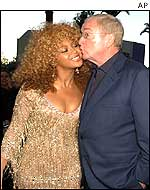 Beyonce Knowles and Michael Caine