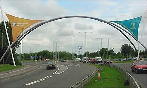 The Gateway to the Games from Manchester Airport