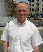 Richard Leese, leader of Manchester City Council