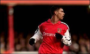 Jeremie Aliadiere made his Premiership debut against Fulham