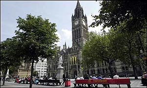 Manchester was hit by a bomb attack six years ago