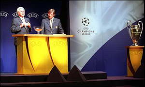 Uefa plan to change the Champions League set-up