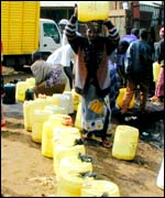 Water supplies in Kenya