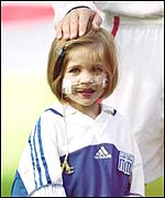 Kirsty Howard was a mascot for the England football team
