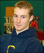David Eaton won the 2001 British Championship