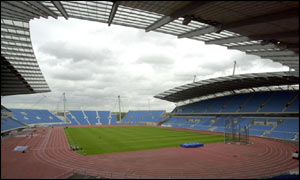 The 2002 Commonwealth Games stadium in Manchester