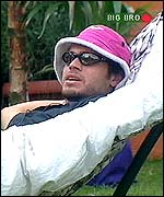 Big Brother's Alex - image copyright Channel 4