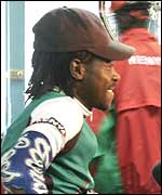 Kenya team captain David Kinjah