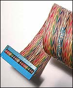 Ribbon cable, BBC