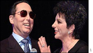 Liza Minnelli with husband David Gest