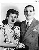 Eva and Juan Peron in the 1940s