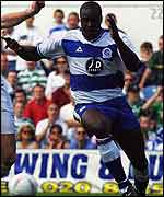 QPR defender Dan Shittu in action in a pre-season friendly against Celtic