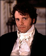Colin Firth as Darcy in an adaptation of Jane Austens Pride and Prejudice