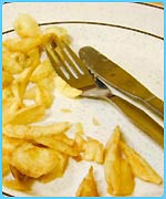 Chips: bad idea for your health