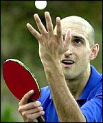 Matthew Syed was rested for the opening round