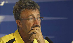 Eddie Jordan ponders the future of his team