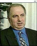 Ahmed Chalabi, INC leader
