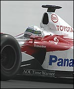 Allan McNish did well for Toyota