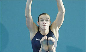 England's Jane Smith wins silver in the 3m springboard final