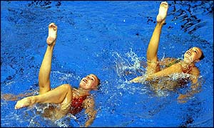 Canada have never lost a synchronised swimming title in Commonwealth Games history
