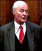 Tony Benn, speaking for one of the last times in the House of Commons