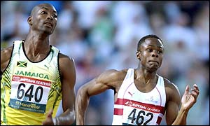 Jamaica's Michael Blackwood took gold as Daniel Caines was edged into fourth
