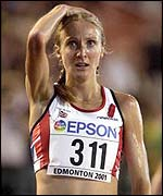 Paula Radcliffe has made up for previous disappointment