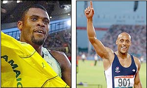 Jamaica's Claston Bernard won the decathlon,  Australia's Matt McEwen took silver and  Scotland's Jamie Quarry took bronze