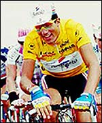 Miguel Indurain won five Tours de France