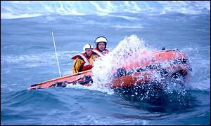 An inshore lifeboat