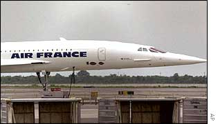 Air France Concorde jet