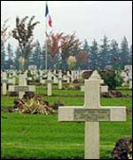 Graves at the Somme