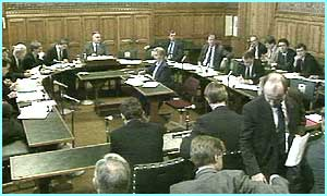 Inside a Commons' Committee Room