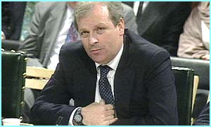 Kelvin McKenzie speaks to the Commons Select Committee
