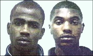 Killers Matthias Lescott (left), 18, and Chai Burrell, 23