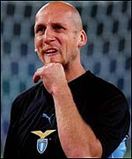Jaap Stam moved from manchester United to Lazio