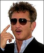 Hollywood actor Sean Penn