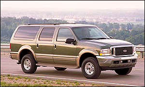 Ford Excursion sports-utility vehicle
