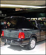 Lincoln Blackwood luxury pick-up truck