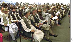 Members of the loya jirga